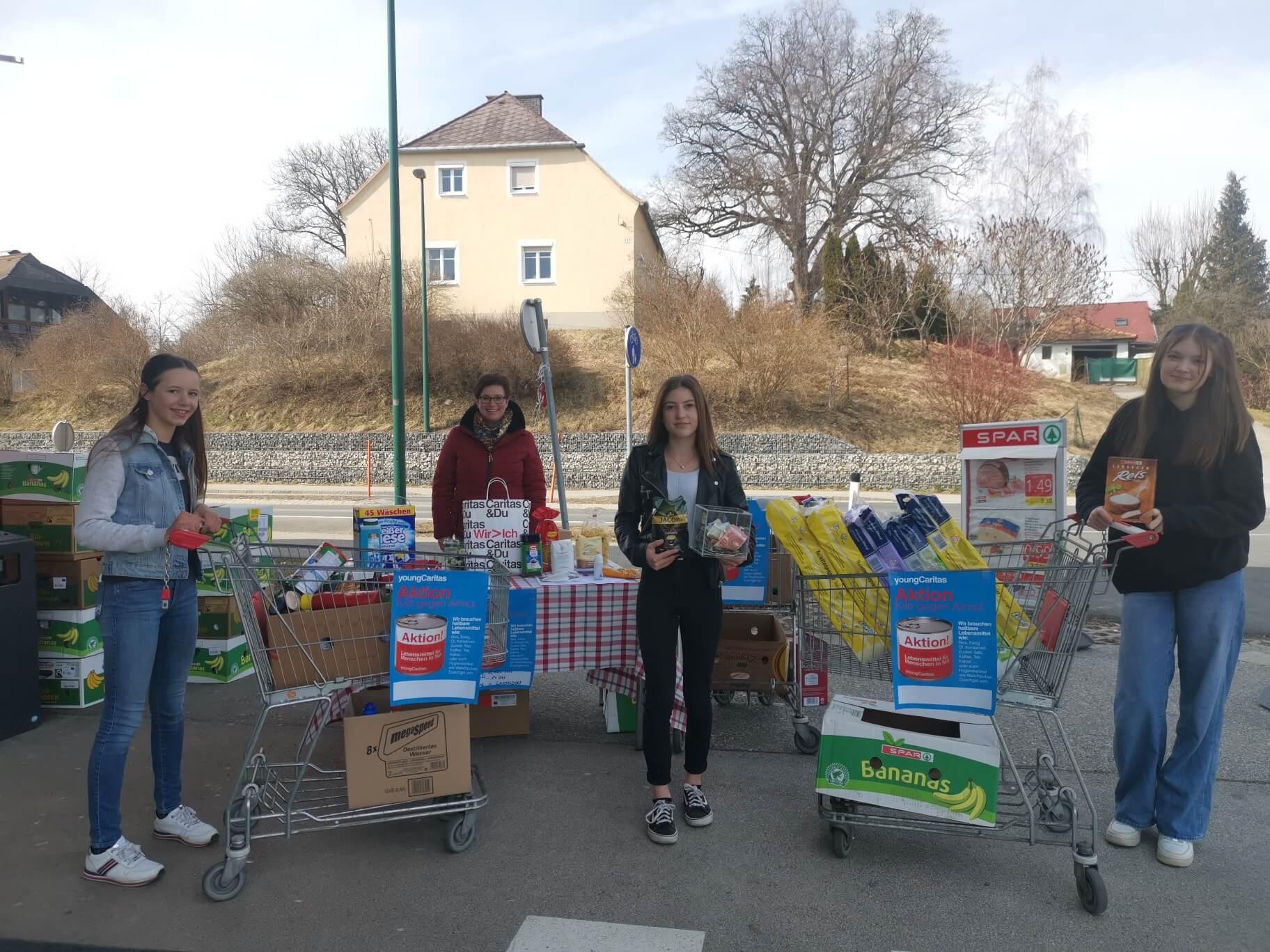Aktion Kilo Firmlinge Timenitz, St. Filippen bei Reinegg, St. Martin und Ottmanach