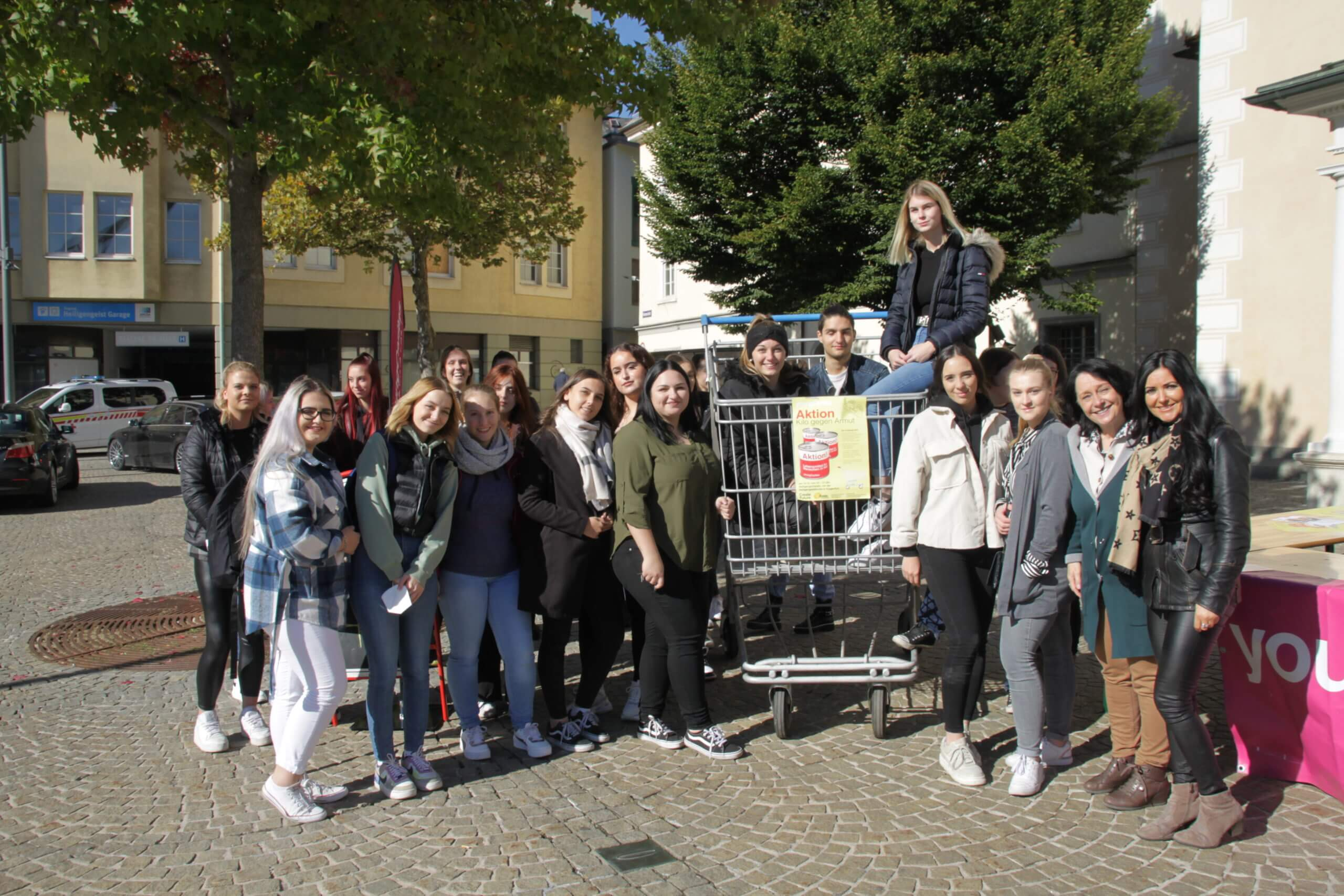 Aktion Kilo 2021 Berufsschule St. Veit