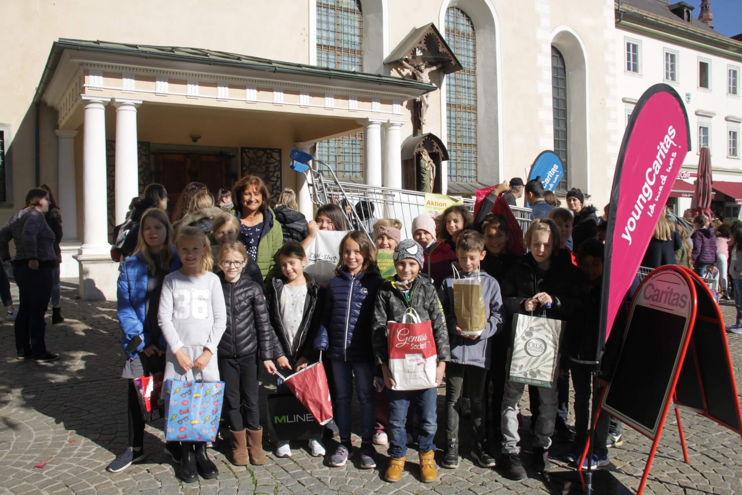Aktion Kilo 2021 Volksschule St. Ursula
